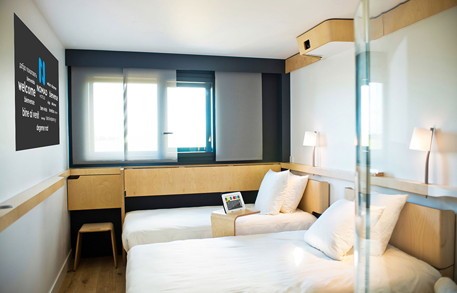 Chambre twin NOMAD Hotels